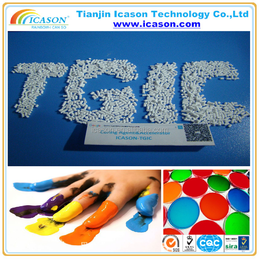 White Powder Polyester Resin Triglycidyl Isocyanurate TGIC