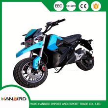High Speed M series 48V to 72V 2000w to 9000w Electric Autocycle With EN15194 EEC Emark 3C Certificate