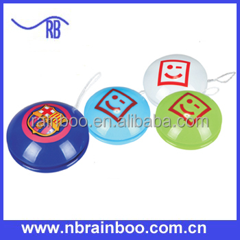 Hot selling Promotional Plastic cheap yoyo with logo printing ABGS107