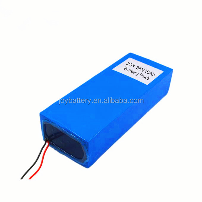 36V10Ah 18650 10S5P rechargeable lithium ion battery pack for electric ebike and electric powered tools