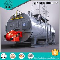 Natural gas and oil fired industrial fully automatic steam boiler price