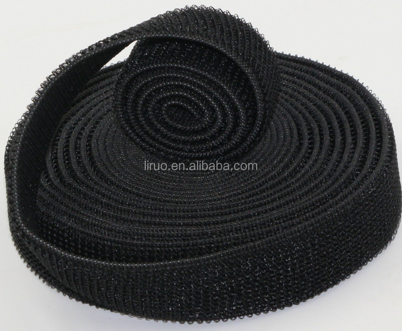 Black or White 50mm hook and loop tape in 100%Nylon Material