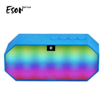 Eson Style LED Shower Radio wireless portable home mini segway speaker audio OEM
