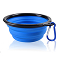 Wholesale Custom Cheap Silicone Feed Dog Bowl