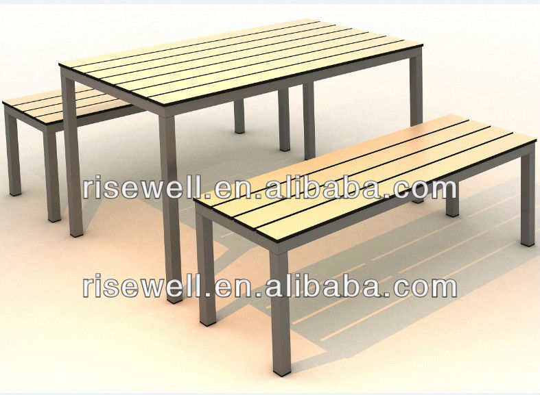 compact laminate hpl table with formica top