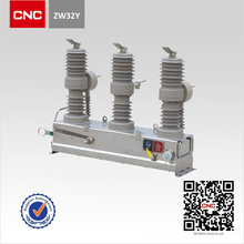 ZW32Y-12 Type outdoor Permanent Magnetic Vacuum Circuit Breaker spring operating mechanism