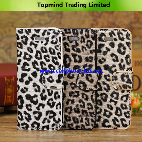 Topmind Cheap Good Quality Leather Case for iPhone 5C