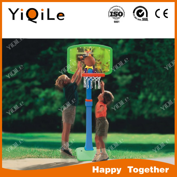 2016 China kids outdoor sport equipment basketball stand and football goat net