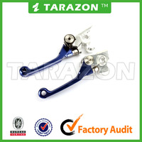 CNC Machined adjustable motorcycle brake clutch lever for dirt bike