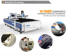 Metal fiber laser cutting/fiber laser cutting machine price