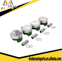 Forged piston kit OEM 13101-44011, car engine piston size