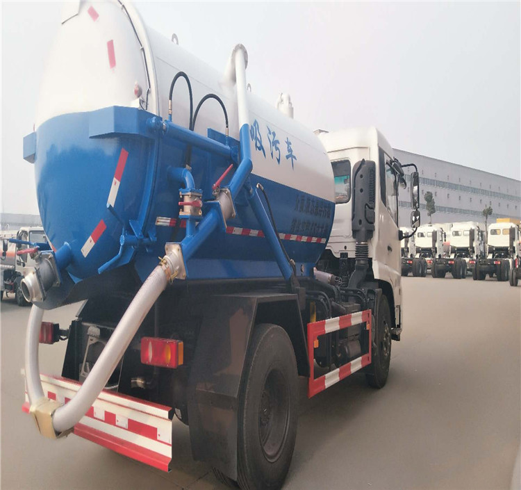 used 4*2 12 m3 oil transport truck for sale