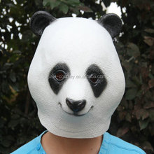 Panda Movies Mask Latex Mask Realistic Children Animal Mask latex