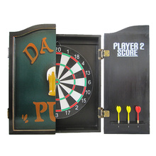Father's day darts machine electronic dart board with 6 soft tip darts