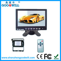 2014 New Best Price China Factory 7 inches LCD Rear View Monitor with Waterproof Night Vision HD Cameras