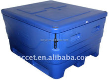 1000L Rational molding fish bin ,fish tub, insulation bin