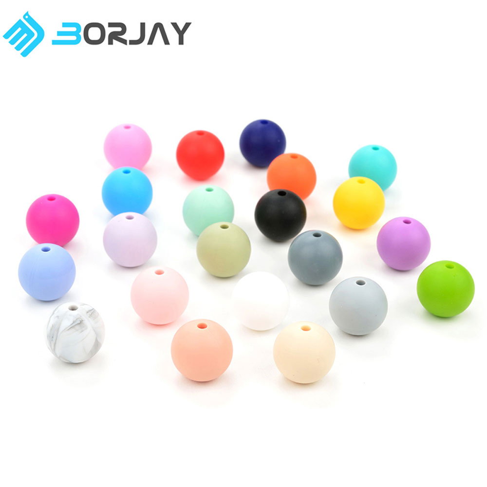 hot selling BPA free baby silicone teething star shaped toys soft silicone beads