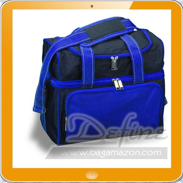 Sports Single bowling ball bag with Removable Foam Ball Cup