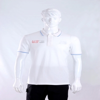 High quality 100% cotton security polo shirt with UNI EN ISO 13688
