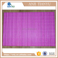 Custom Assorted Printed Quilted Bamboo Table Mat