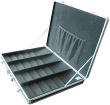 2015 new design aluminum storage case ,small storage aluminum case ,tool carrying case with handle and foam inside