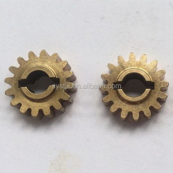OEM machine products brass bronze copper material <strong>gear</strong>