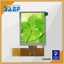 transflective tft lcd display module of 3.5 inch 640x480 Sunlight readable made in ShenZhen