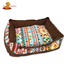 Hot Sell Soft Feeling Bohemian Style Cozy Craft Pet Beds