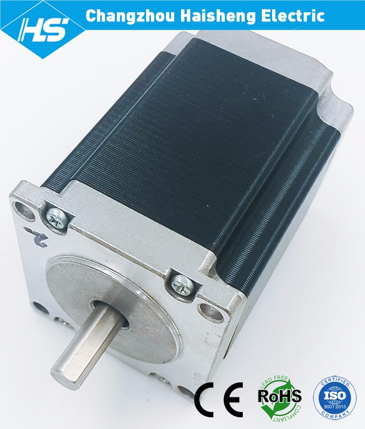 1.8 degree 2 phase 4 wire 57mm stepping motor for cnc