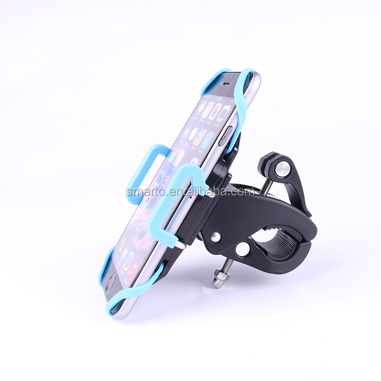 Amazon hot selling Universal Motorcycle Bicycle Bike Handlebar Mount Holder For Cell Phone GPS PDA