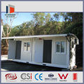 prefab steel structure sandwich panel container home