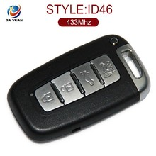 car key for Ki a Ferretti smart card four button remote control key 433MHz AK051005