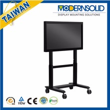 Height Adjustable Interactive LED LCD TV Trolley