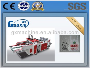 Automatic High Speed Double-Color T-shirt Bag Making Machine