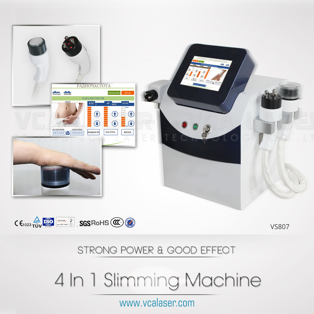 TOP Ultrasound 40K Vacuum body sculpture fat cell reduction beauty machine