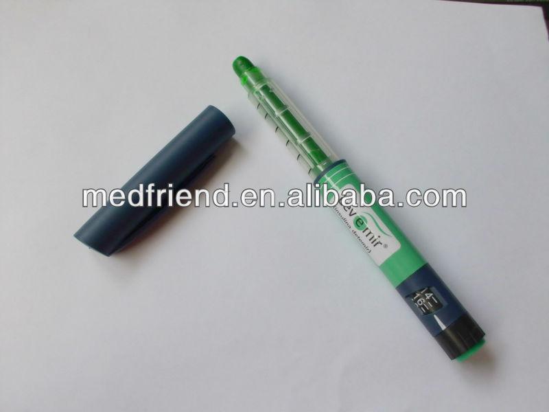 Novo Nordisk insulina pluma cera en forma highlighter