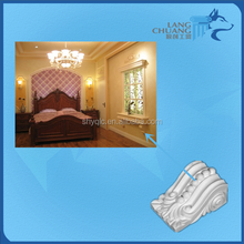 Fashionable Design Competitive Price Best Quality Hand-made White Gypsum Corbels