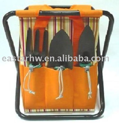 multi-purpose seated tool bag