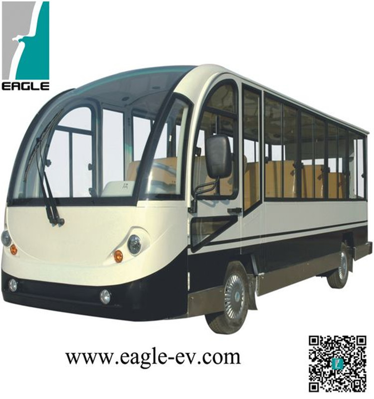 electric sight seeing coach,shuttle personnel carrier,electric bus EG6158KF03,72V/7KW AC system,14-PERSON