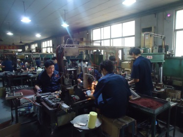 Grinding & Cutting wheel production 2