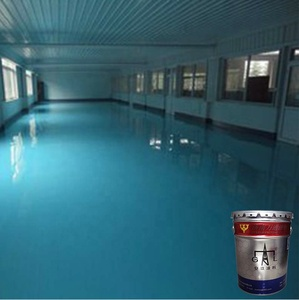 Bright and diverse colors anti-static epoxy resin floor coating