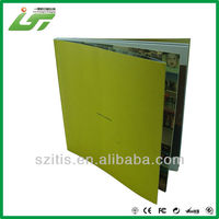 High quality China wholesale perfect binding hardcover book printing