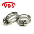 Stainless steel american mini type hose clamp clip for auto parts and agricultural machinery