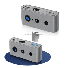 Bluetooth Musik Audio Stereo Adapter Receiver <span class=keywords><strong>für</strong></span> Auto 3,5mm AUX hause Lautsprecher MP3 <span class=keywords><strong>für</strong></span> Car Music Sound System Hände Frei aufruf