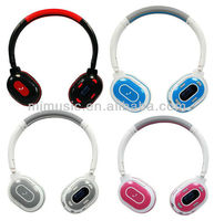 alibaba china supplier bluetooth headphone earphones fm memory card