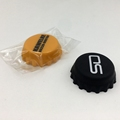 silicone beer bottle crown caps food grade round custom logo print