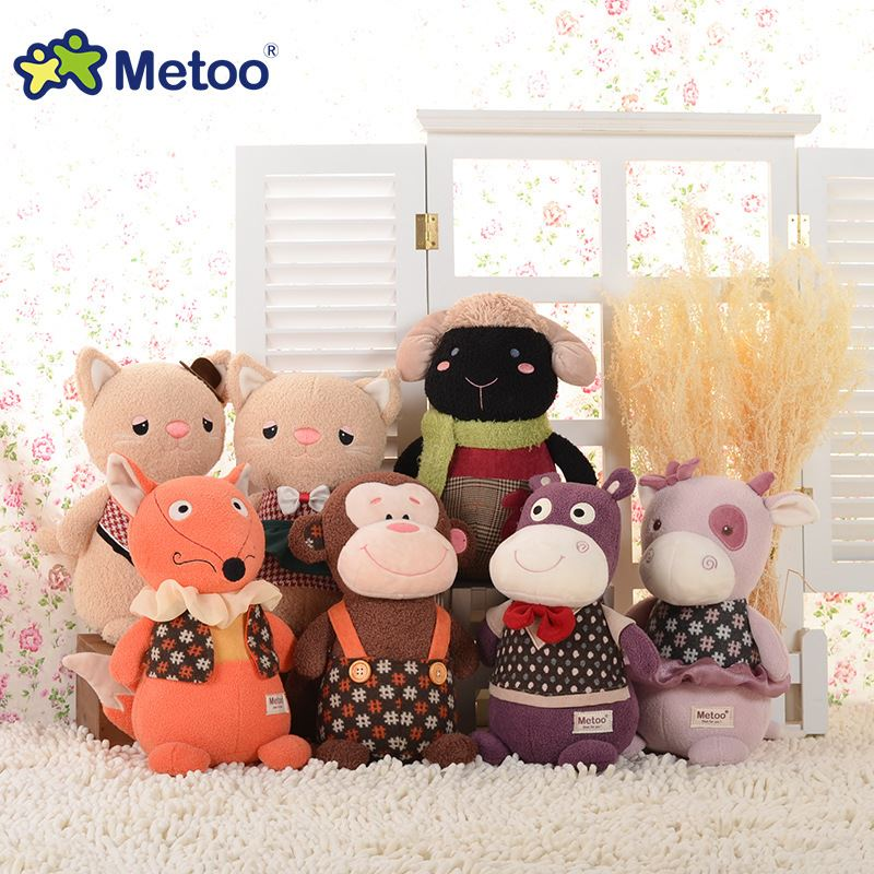 Plush Stuffed Baby Kids Toys for Girls Birthday Christmas Gift 27cm Manor Story Doll Metoo Doll