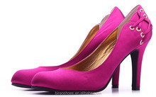 Purple High quality women fashion high heel shoes