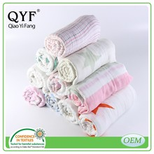 MOB 104 Hot Sales Breathable cotton muslin blankets for baby swaddling