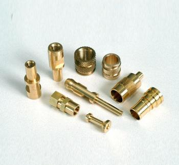 High precision lathe Brass CNC turning parts